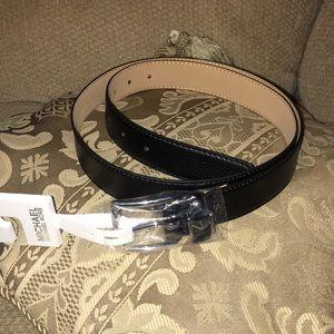 "♣️NWT Michael Kors"" Genuine Leather Belt"